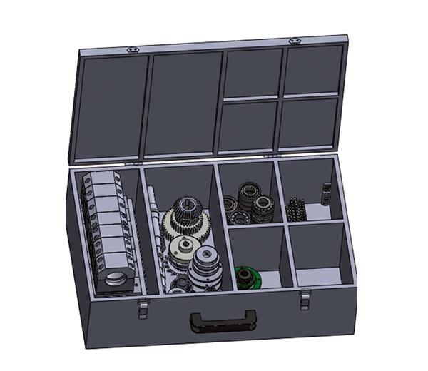 جهاز تدريب المحور المحمول المشترك DLJX-ZX01