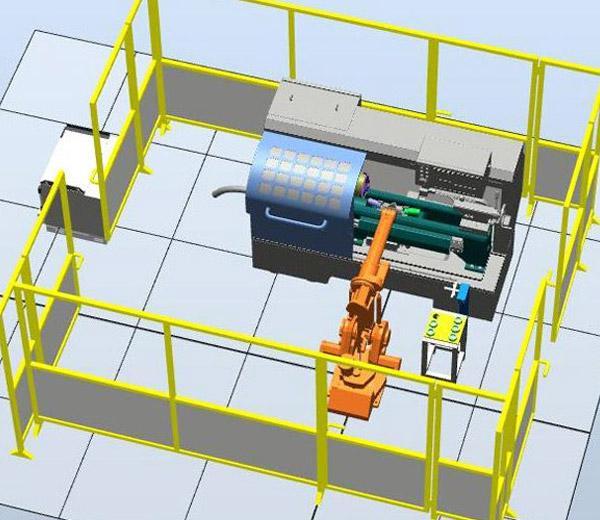 نظام تدريب تحميل وتفريغ الة الربوت DLRB-1410B