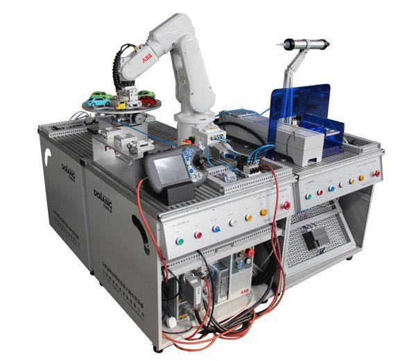نظام تدريب عمل محطة الربوت الصناعى النموذجية DLRB-934