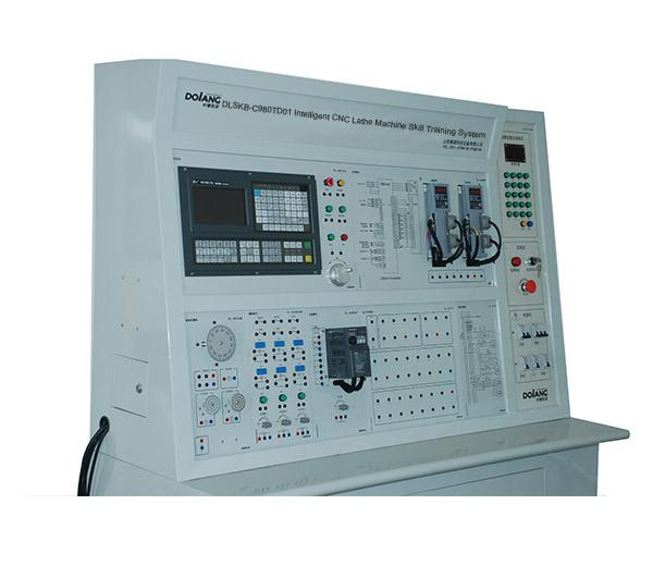 نظام تدريب مهارة آلة مخرطة التصنيع باستخدام الحاسب الآلى DLSKB-C980TD01