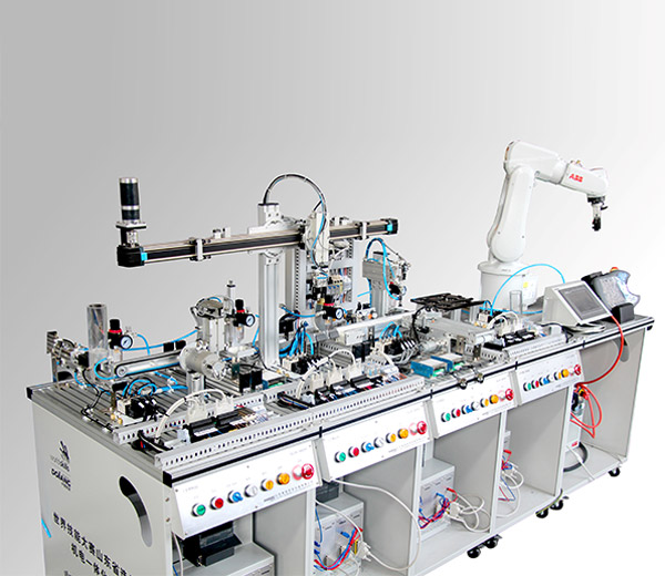 نظام تدريب نظام وحدات خط الإنتاج مرن DLDS-500AR