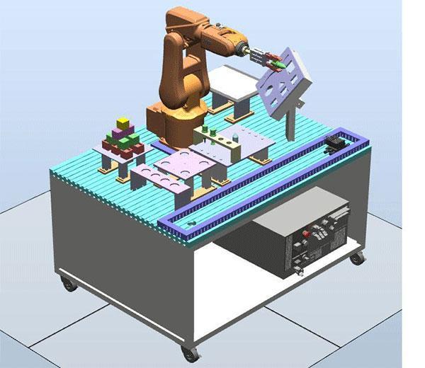 نظام تدريب الربوت الصناعى الاساسى  DLRB-120