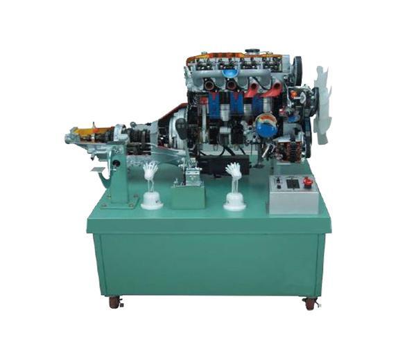محرك الديزل ذو الأربعة أسطوانات منصة توضيح التفكيك DLQC-D0019